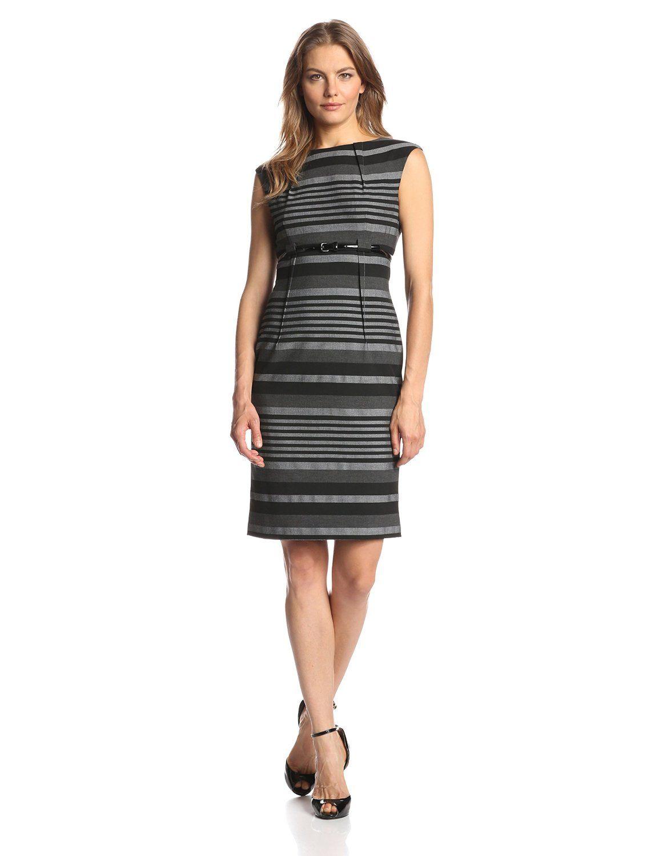 42++ Calvin klein cap sleeve belted sheath dress ideas