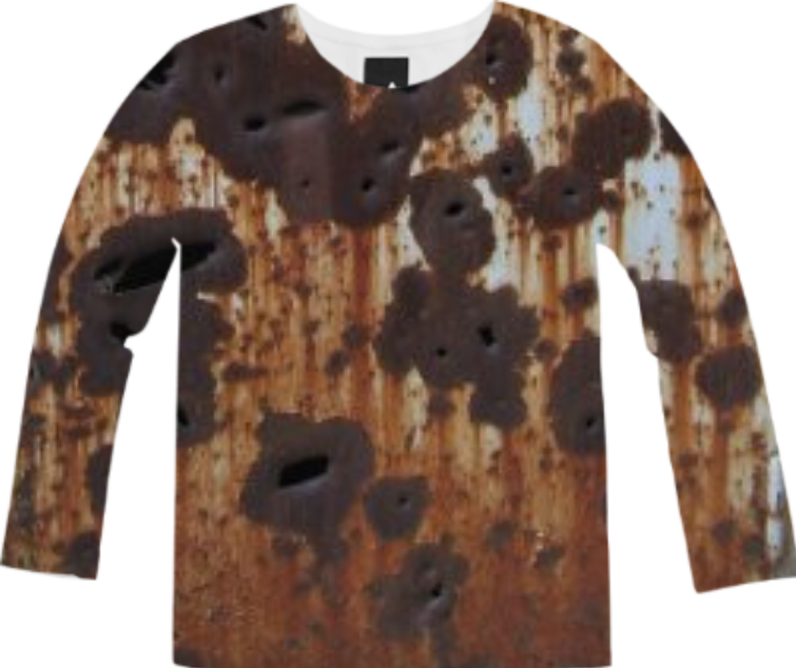 Rust Long Sleeve Tee from Print All Over Me