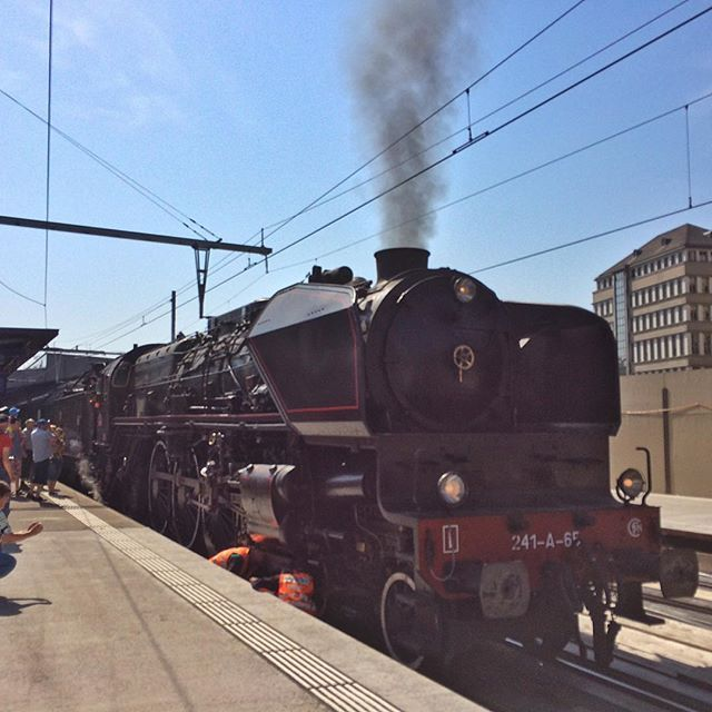 SNCF 241-A-65 Zurich Mainstation by transport_saennb