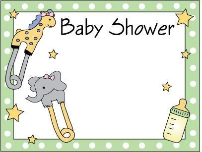 d27af39996afa Tarjetas para baby shower gratis que se pueden modificar ...