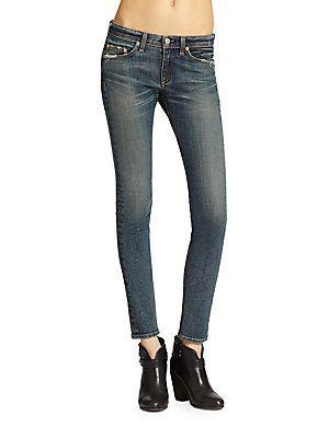 rag & bone/JEAN Preston Skinny Jeans - Preston - Size 32 (10-12)