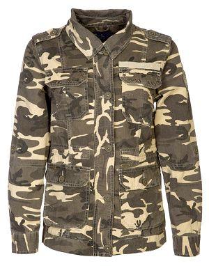 Veste camouflage Pepe Jeans