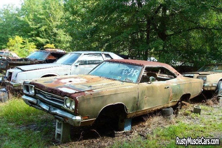 1969 Plymouth Gtx Rusty Muscle Cars Pinterest Cars Plymouth