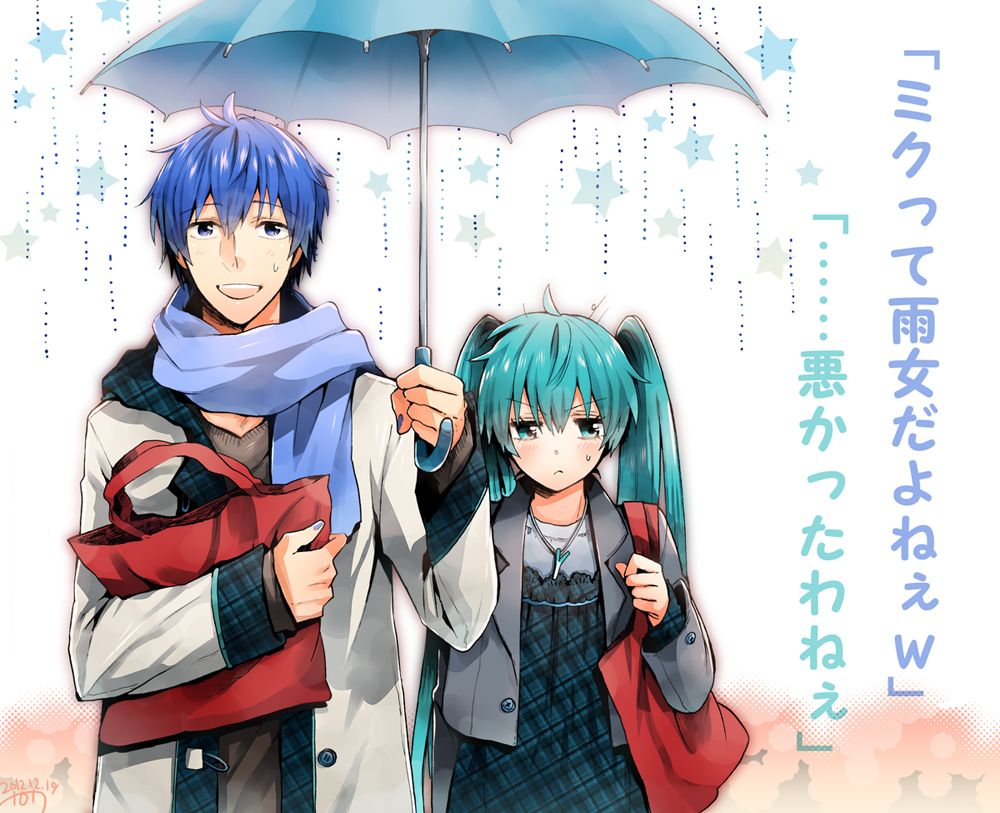 Tags Hatsune Miku, Vocaloid, KAITO, Pixiv, Melt (Song