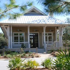 Beach Bungalow Florida Architects Watersound Watercolor Rosemary Archiscapes