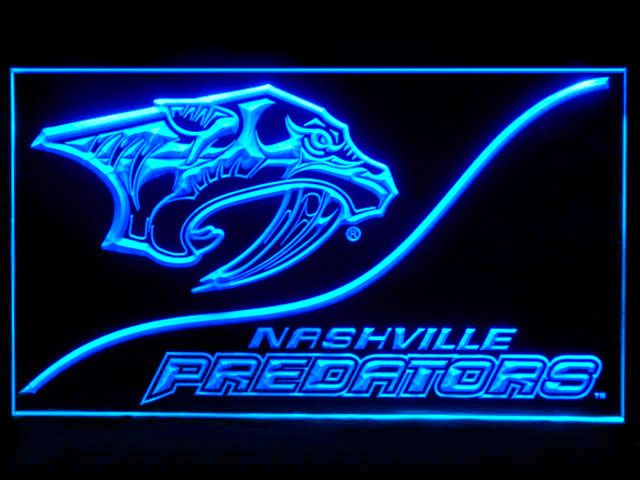 4cc61ac9e Nashville Predators Cool Display Shop Neon Light Sign