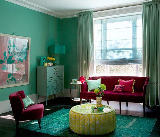 Gutsy Colour Wall Colorspaint Colorscolor Comboscolor Schemescolorful Decorcolorful Interiorsmaroon