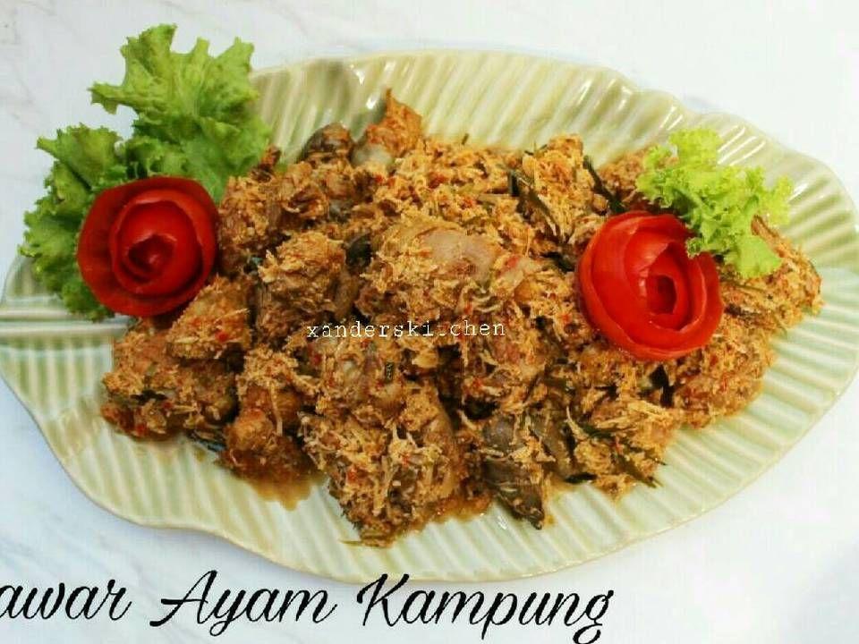 Resep Lawar Ayam Kampung Oleh Xander S Kitchen Resep Resep Masakan Resep Ayam Resep Makanan