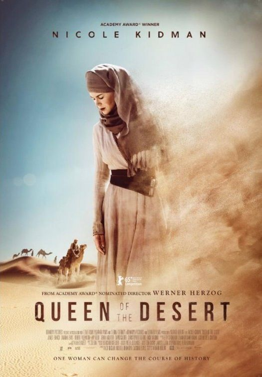 Premier Trailer De Queen Of The Desert De Werner Herzog Cinechronicle Film Romantique Film Film D Amour