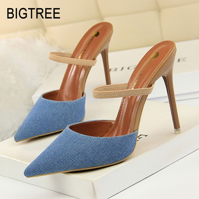 48027135dcb Bigtree Shoes Women Pumps New Women Stiletto Fashion High Heel Women Shoes  Spring Kitten Heels Women Ssandals Sexy Party Shoes