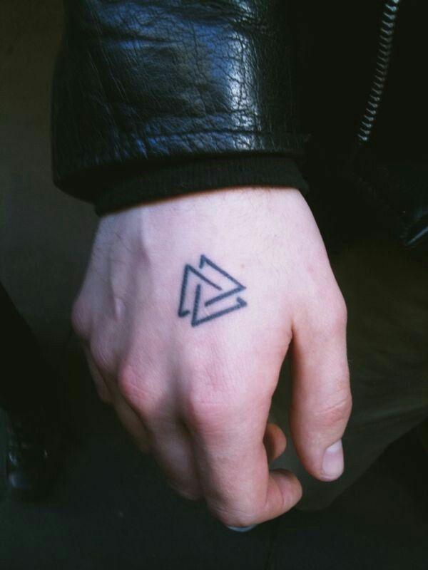 Tatuajes En La Mano Pequenos Para Hombres