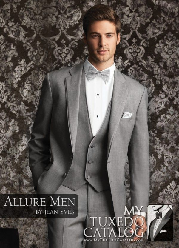 Heather Grey \'Bartlett\' Tuxedo from http://www.mytuxedocatalog.com ...