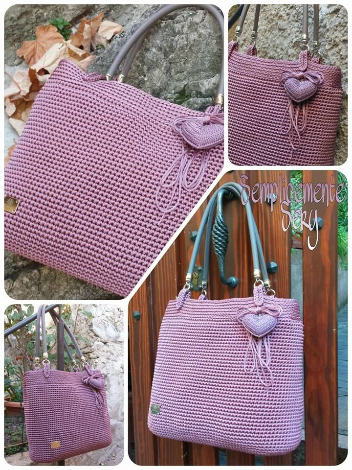 Pin von Sandy Smith auf Bags and Purses | Pinterest | Häkeln
