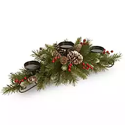 Indoor Christmas Decorations Christmas Lights Kitchen Towels Candles Bed Bath Beyond Christmas Centerpieces Indoor Christmas Decorations Pine Candle