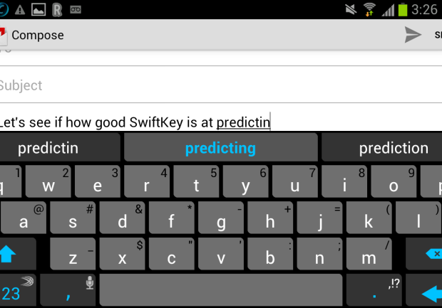 SwiftKey 4.3 introduces one keyboard for all devices (With