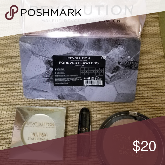 Photo of Makeup Revolution Optimum Palette Bundle Everything is unused and unguarded. I….