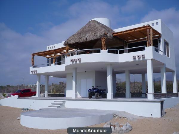 Casa de playa en el sargento bcs mexico sol playa for Disenos de casas de playa pequenas