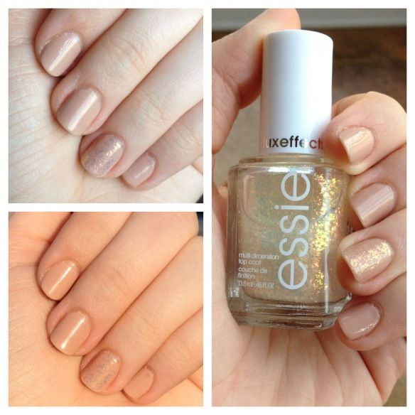Deborah Lippmann's Naked and Essie's Shine of the Times