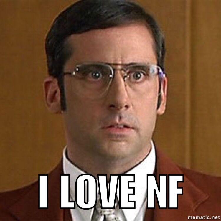 Amazing I Love NF #anchorman