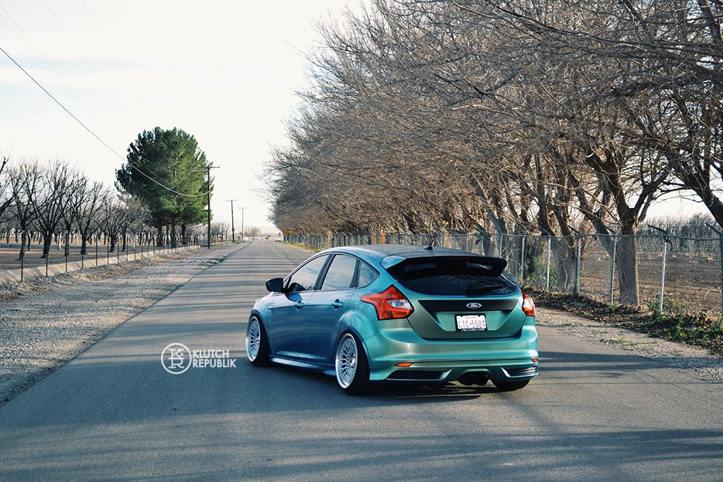 Klutch Wheels Slc1 Ford Focus St Stance With Images Ford