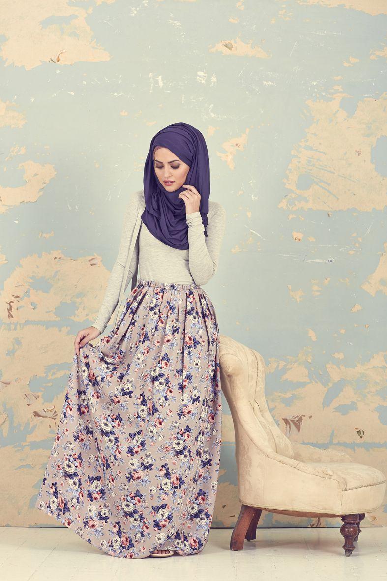 Gaya vintage muslimah tren fashion terbaru pinterest Retro style fashion for muslimah