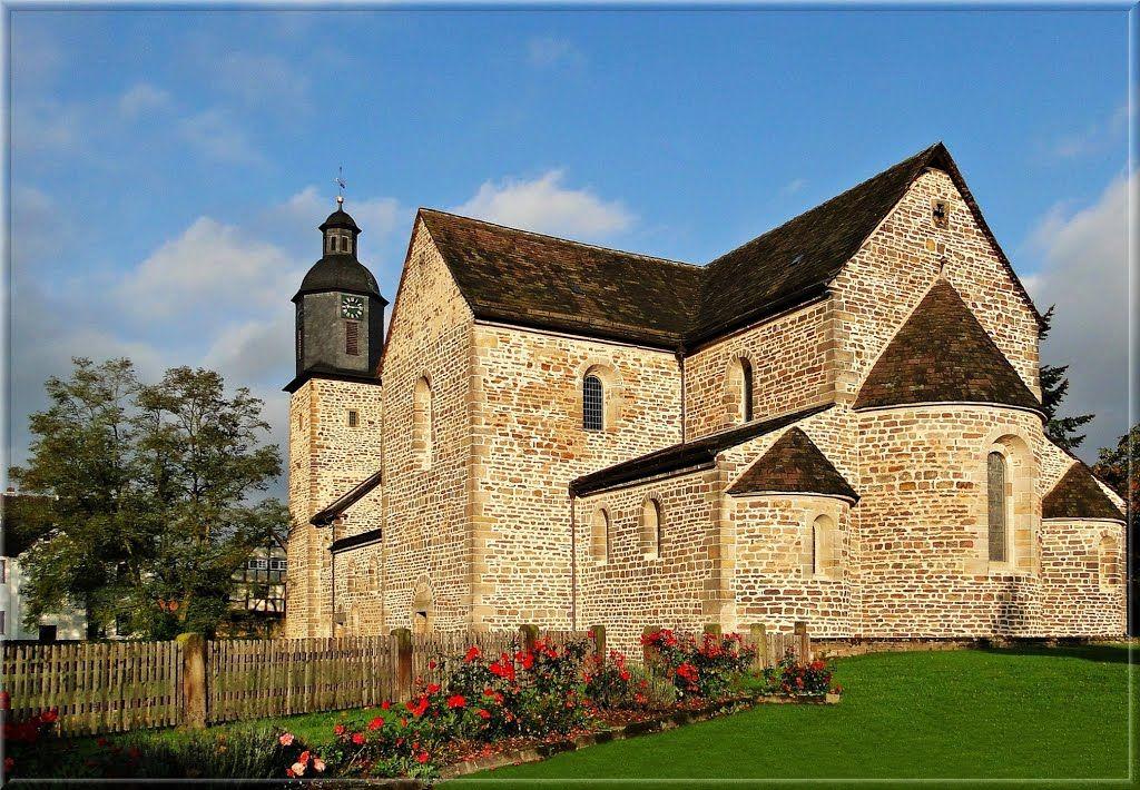Wahlsburg : Klosterkirche Lippoldsberg