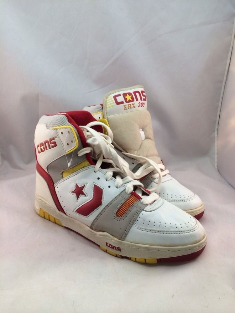 913b5504ed8ed8 NEW MEN S 039 Converse Shoes 200 ERX May 12 Larry Bird Magic Johnson  Sneakers VTG Rare