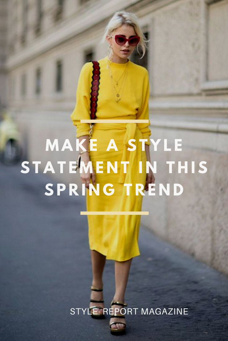 This spring trend is a must! Forget the pastel outfits and try bold color  this season! Bold color outfits on your favorite style stars PLUS shop ... 9bebdc8a1