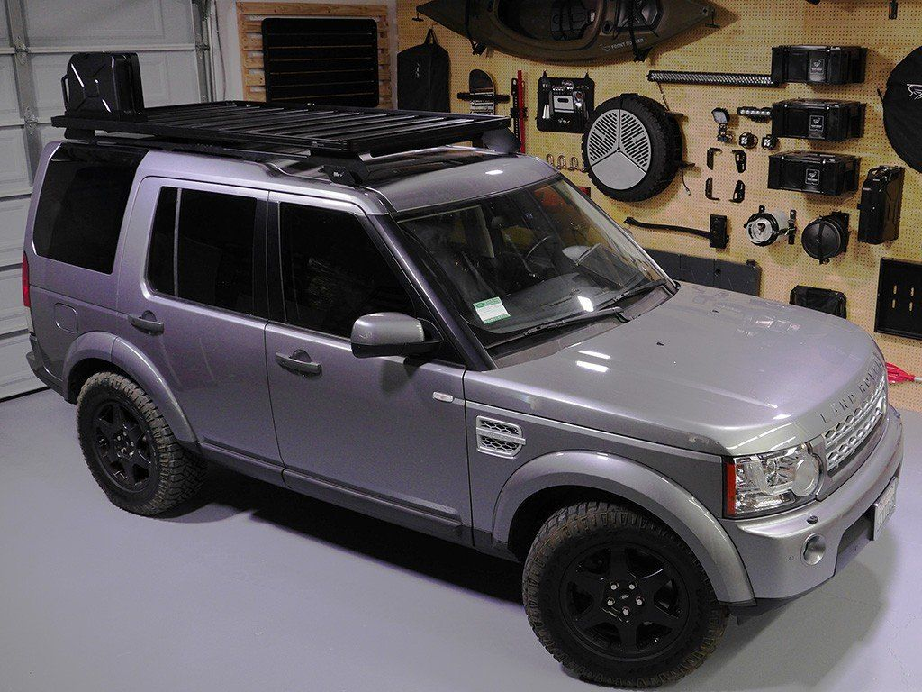 Land Rover Discovery Lr3 Lr4 Slimline Ii Roof Rack Kit By Front Runner Land Rover Roof Rack Land Rover Discovery
