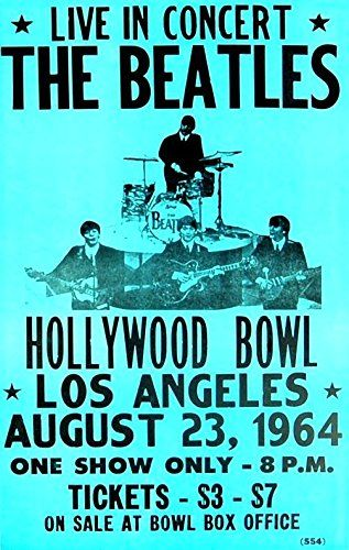 The Beatles - Hollywood Bowl