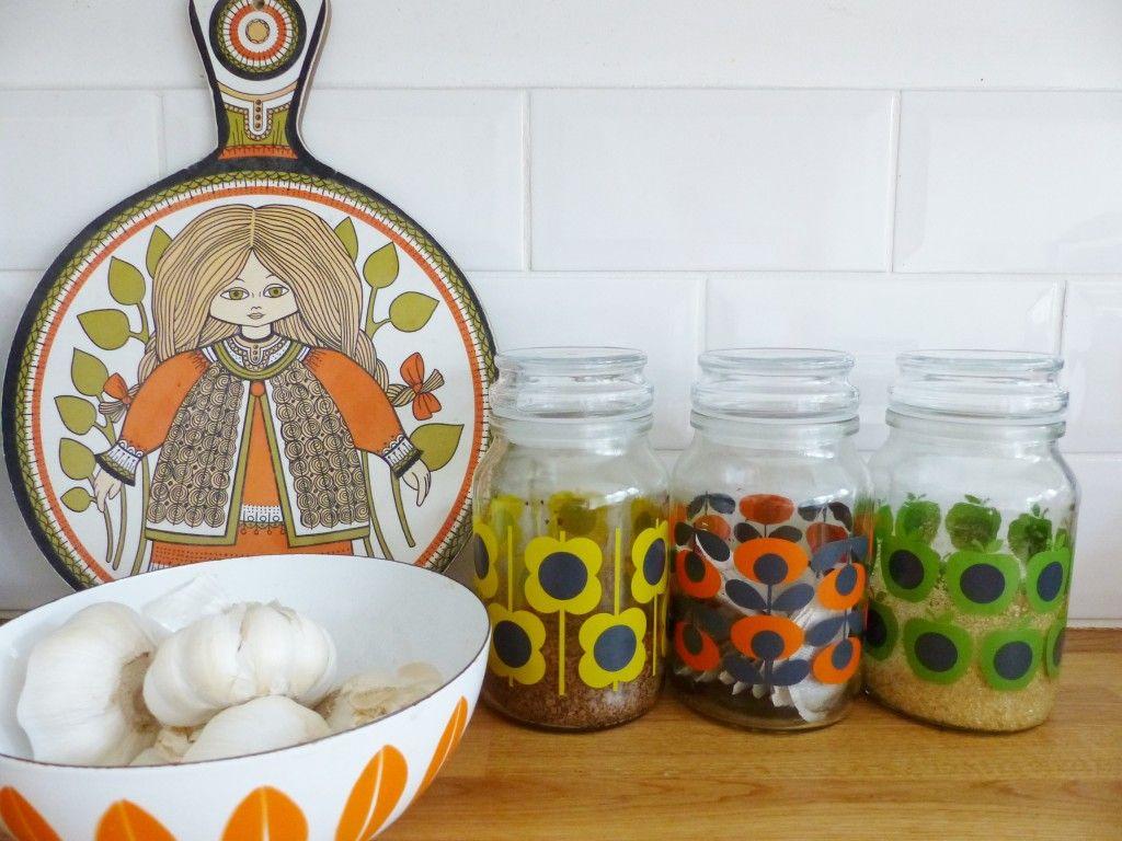 Vintage kitchenware - Vintage Kitchenware Sits Nicely Next To Orla Jars