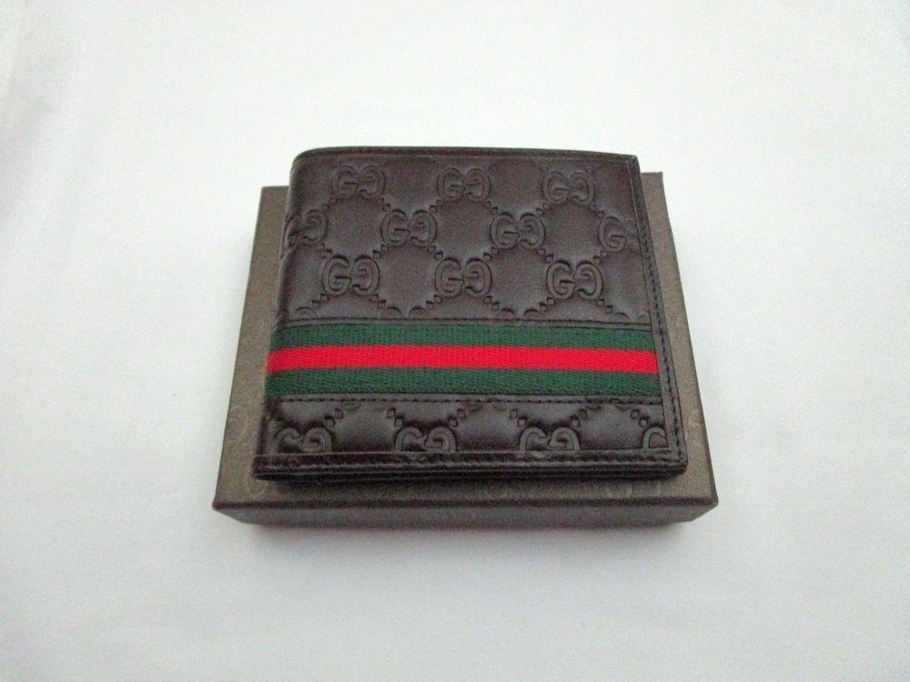 Gucci Wallet Men Brown