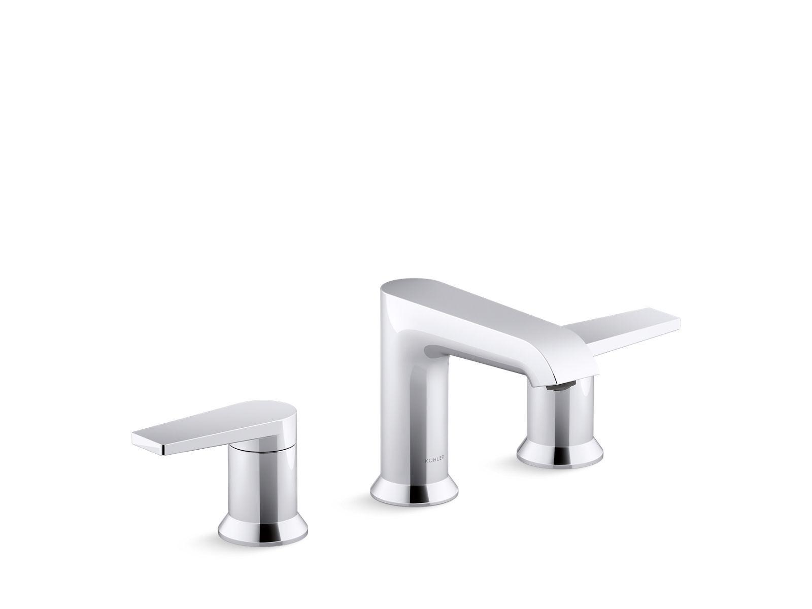 K 97093 4 Hint Widespread Bathroom Sink Faucet Kohler Sink Faucets Bathroom Sink Faucets Bathroom Faucets [ 1200 x 1600 Pixel ]