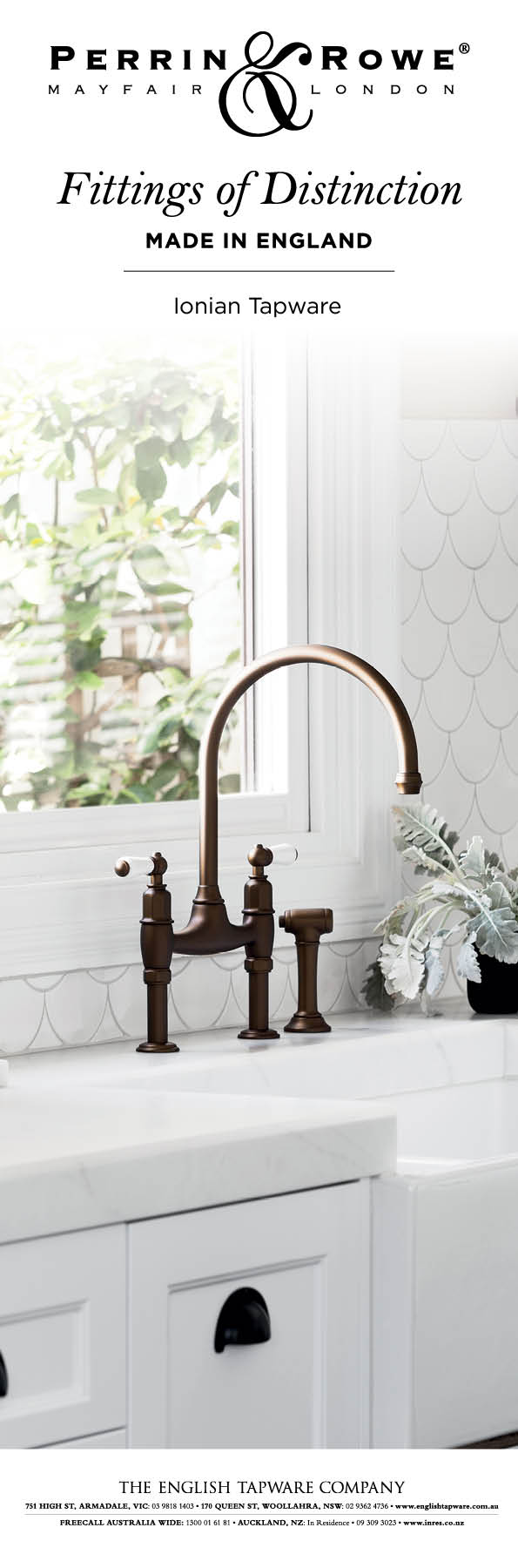 Traditional Taps Australia Perrin Rowe Ionian Bridge Mixer Tap Looking To Buy Quality