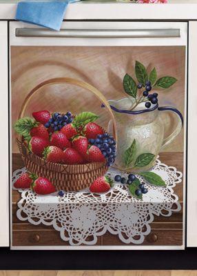 Strawberry Kitchen Decorative Dishwasher Cover  Kitchen