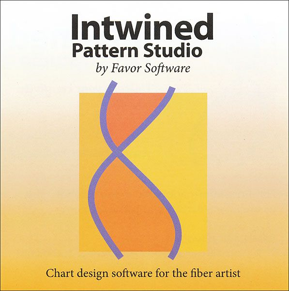 Intwined Pattern Studio Software Create knitting patterns Windows and Mac T...