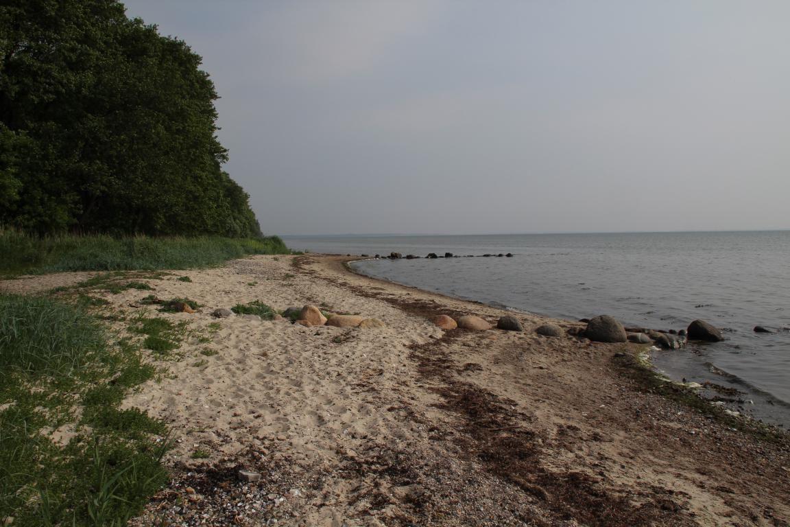ein Strand an der Ostseeküste Ferienlager, Ferien