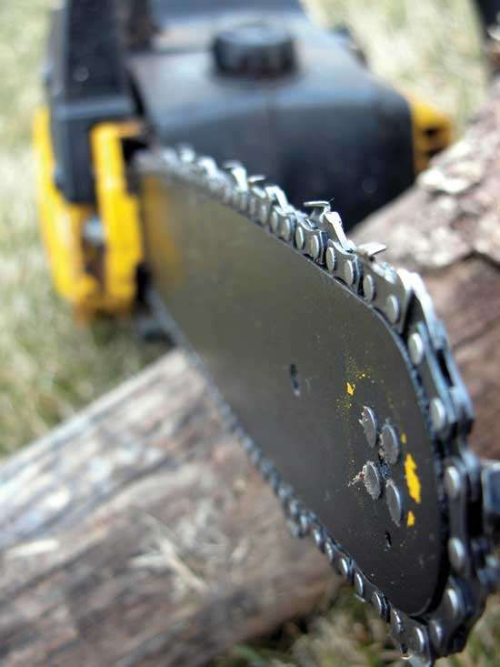 How to Sharpen a Chainsaw Chain - Tools - GRIT Magazine