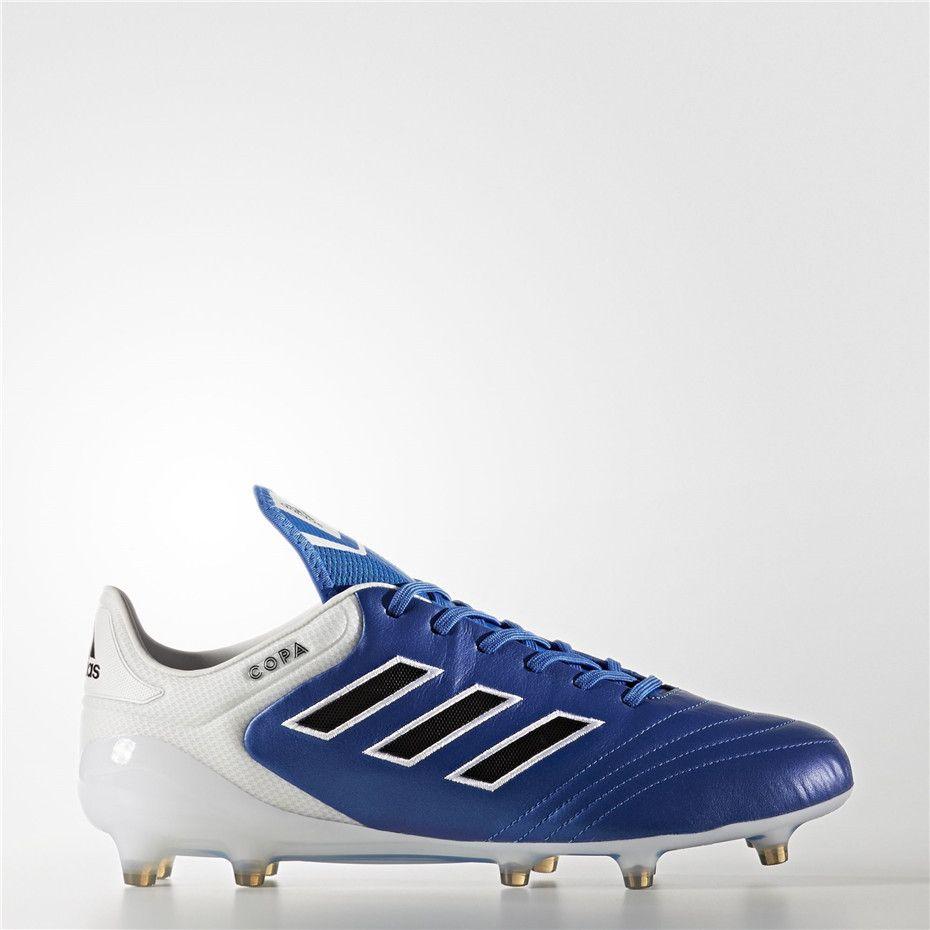 Adidas Copa Terra Ferma Le Scarpe Blu / Nero / Bianco (Running