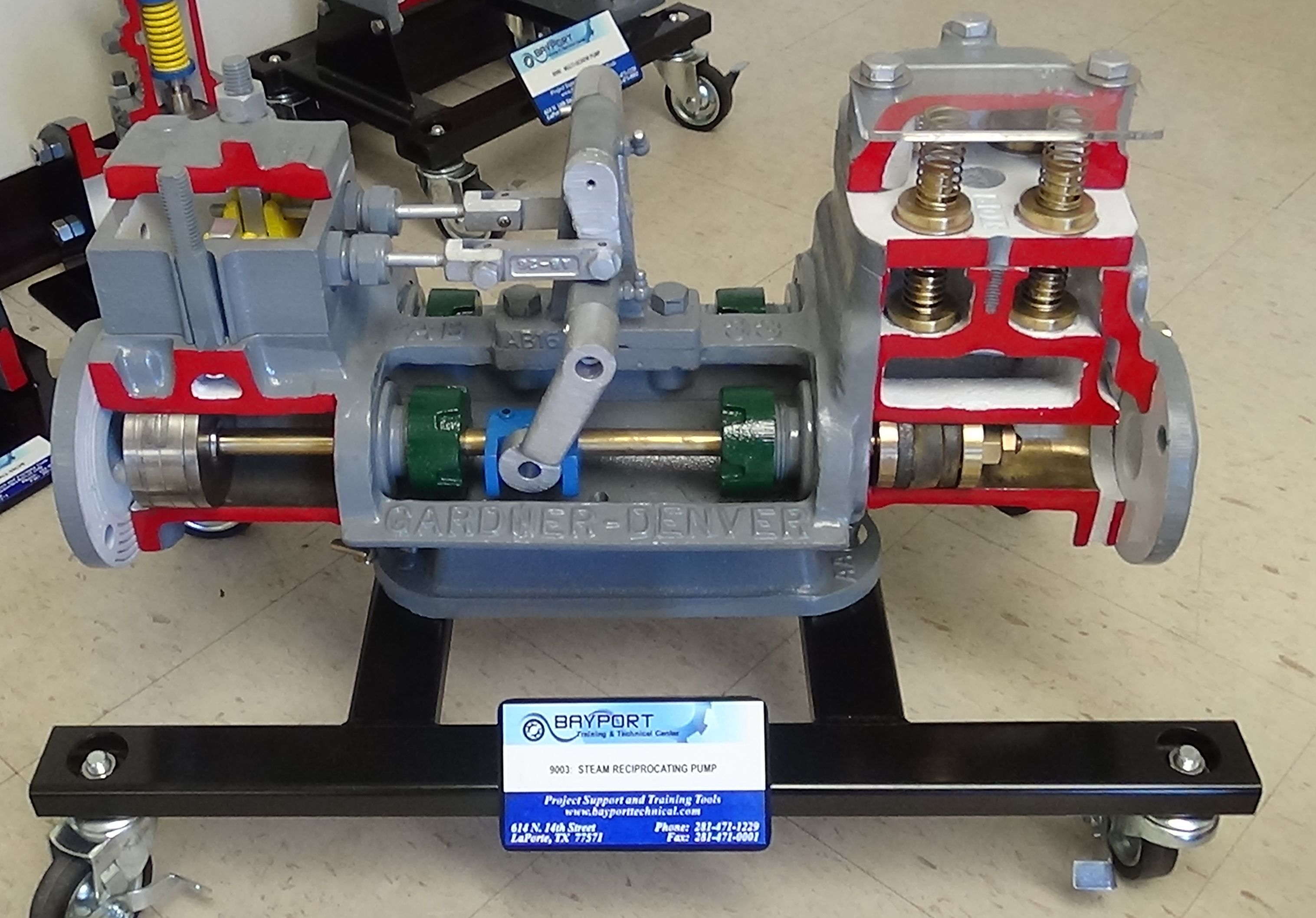 steam reciprocating pump