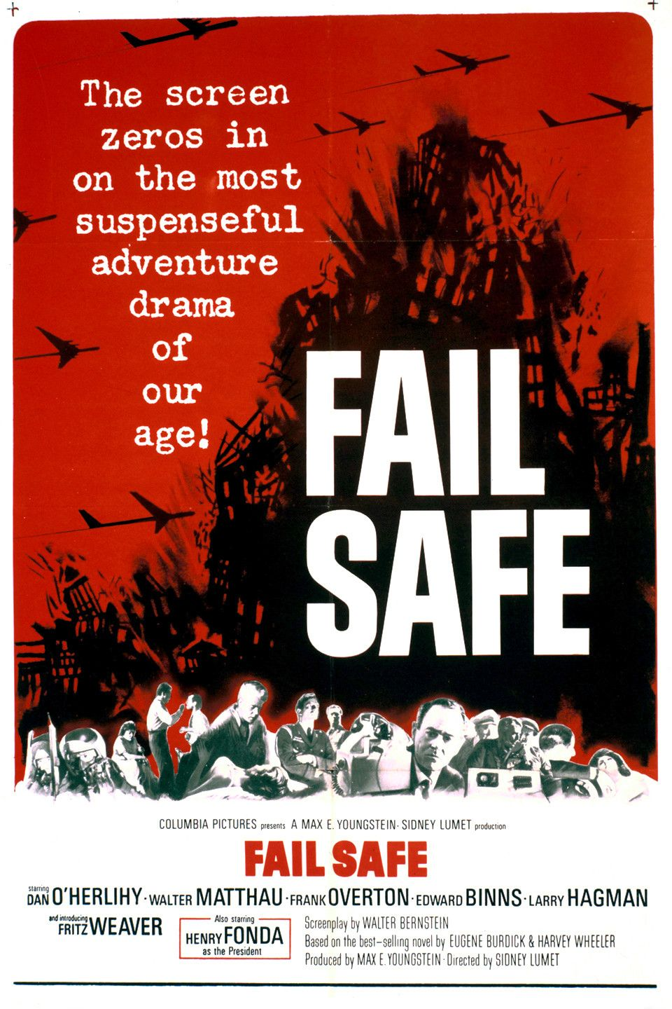 Fail Safe (1964) is one of the greatest anti war thrillers