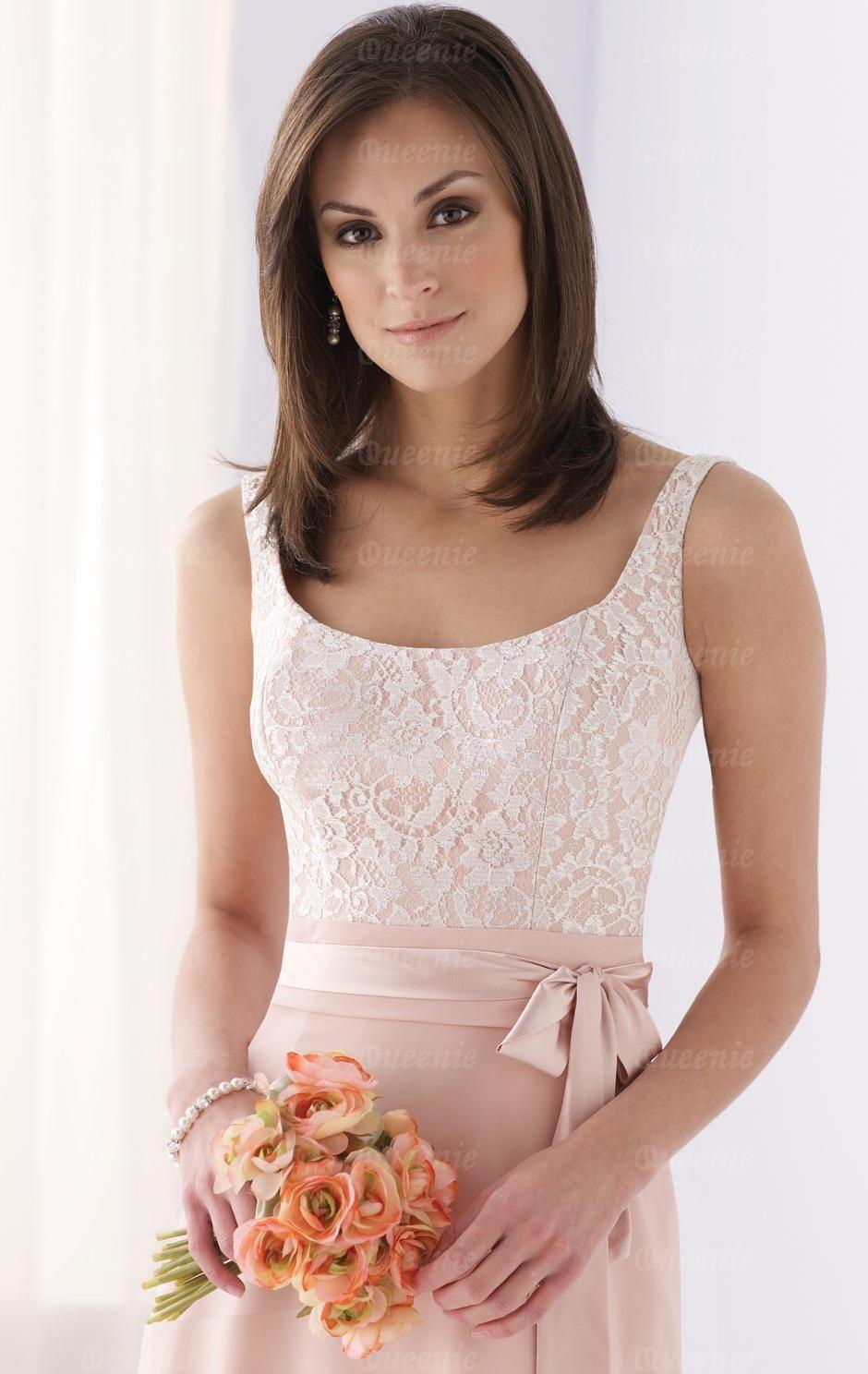 Cheap Pink Bridesmaid Dress BNNAD1166-Bridesmaid UK