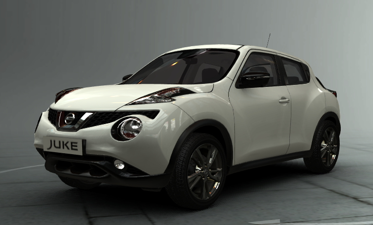 new nissan juke 2014 white and black creative line d couvrez nos prix. Black Bedroom Furniture Sets. Home Design Ideas