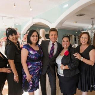 Randy Fenoli Fashion Director From Tlc S Say Yes To The Dress And Sposa Mia Couture Staff