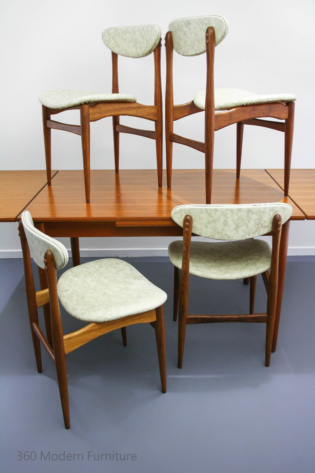 Mid Century Teak Dining Chairs X 4 Vintage Retro Danish Parker Eames Scandi Era Mid Century Dining Chairs Furniture Modern Furniture