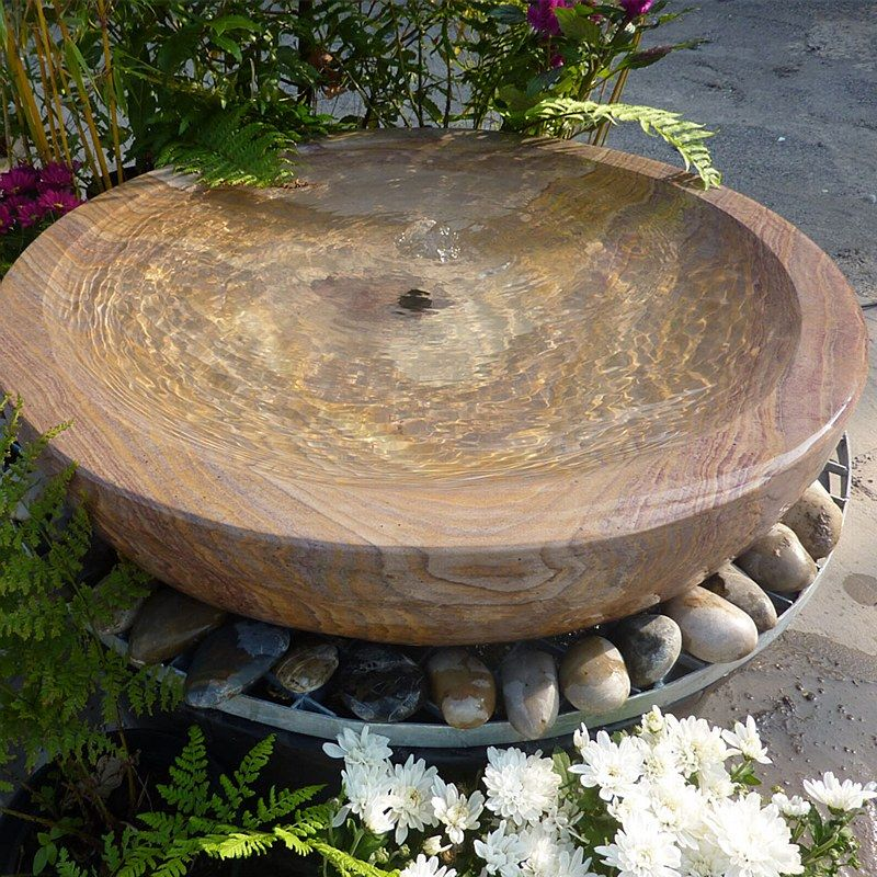 babbling bowl fountain rainbow large bents garden. Black Bedroom Furniture Sets. Home Design Ideas