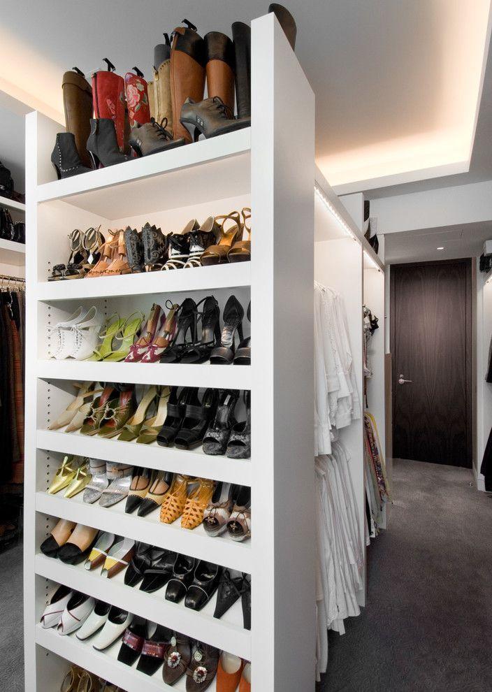 Perfect Beautiful Wood Shoe Rack Method Other Metro Mediterranean Closet .