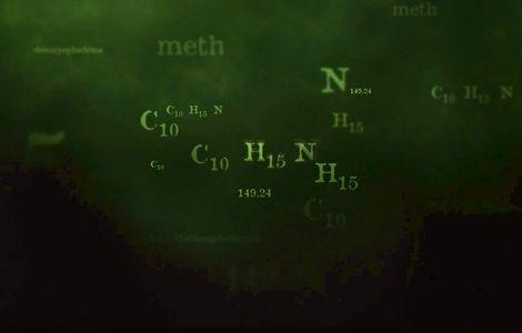 [foto de la noticia] Breaking Bad - Molecula de Metanfetamina