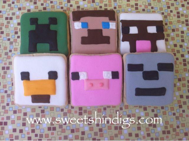 Sweet Shindigs: Minecraft Sugar Cookies