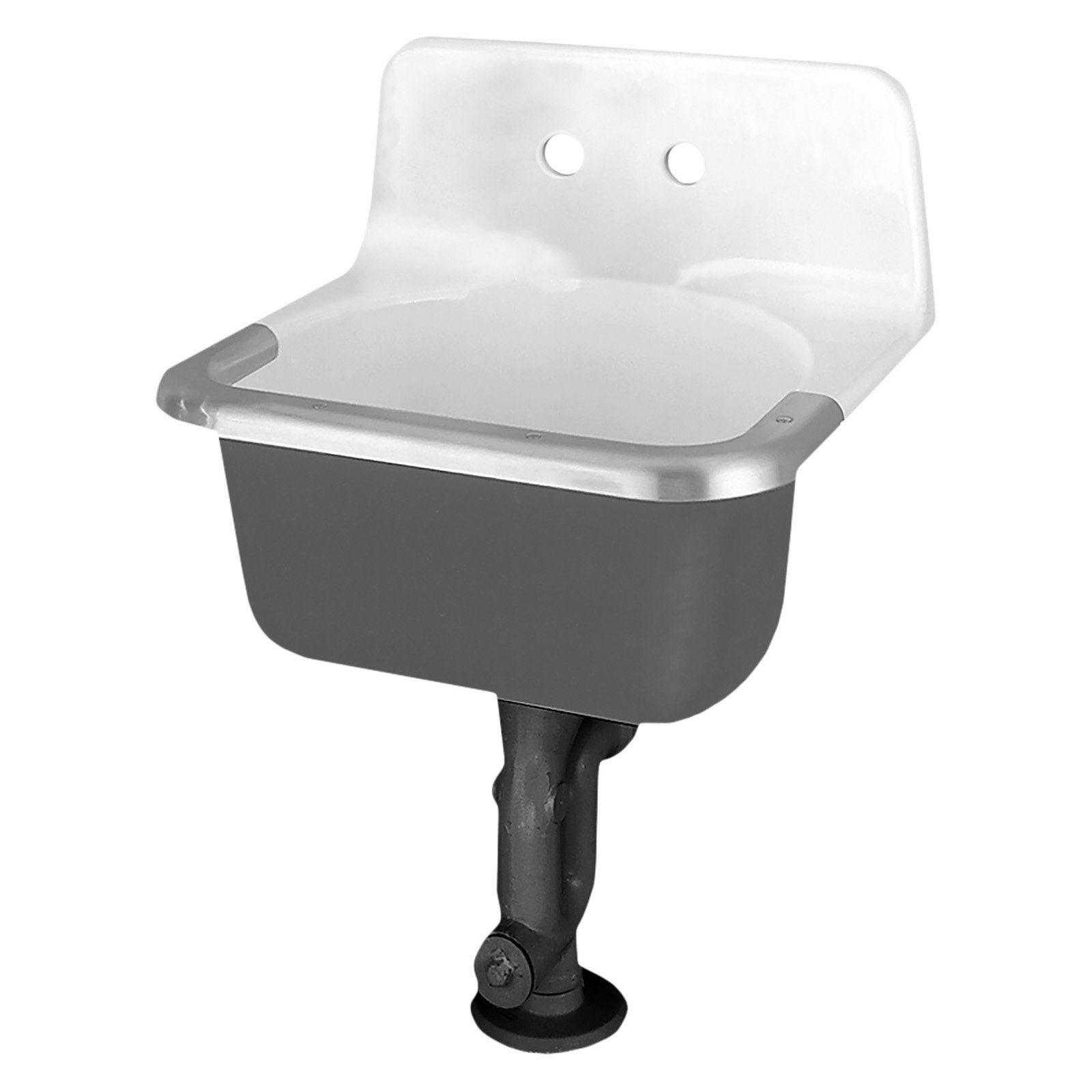 American Standard Akron 7695 008 020 Wall Mount Bathroom Sink